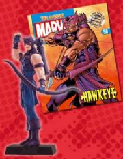 Classic Marvel Figurine Collection #050 Hawkeye Eaglemoss Publications